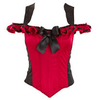 Red Pirate Corset