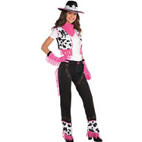 Adult Rodeo Cowgirl Costume Kit