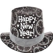 Black Prismatic Top Hat
