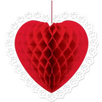 Red Heart Honeycomb Ball 14in