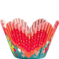 Heart Petal Baking Cups 24ct