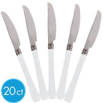 Reflections White Knives 20ct