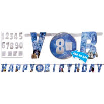 Add an Age Star Wars Birthday Banner 10ft