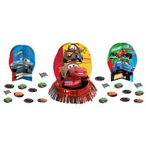 Bright Cars Table Decorating Kit 23pc