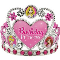 Disney Princesses Birthday Tiara