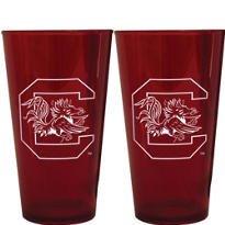 South Carolina Gamecocks Pint Cups 2ct