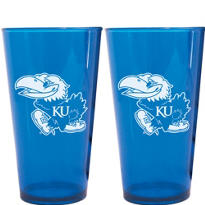 Kansas Jayhawks Pint Cups 2ct