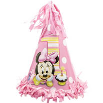 Minnie Mouse 1st Birthday Party Hat