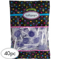 Royal Blue Lollipops 48pc
