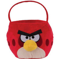 Plush Angry Birds Easter Basket