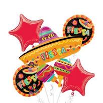 Fiesta Balloon Bouquet 5pc