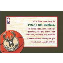 Milwaukee Bucks Custom Invitation