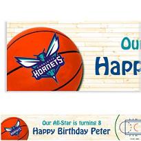 Charlotte Hornets Custom Banner
