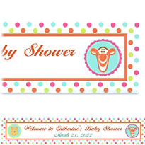 Winnie the Pooh Baby Shower Custom Banner 6ft