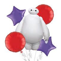 Big Hero 6 Balloon Bouquet 5pc