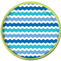 Cool Sea Platter 13in