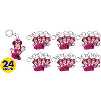 Minnie Mouse Keychains 24ct