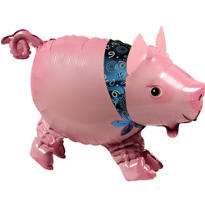 Precocious Pig Balloon Buddy 24in x 16in