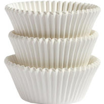 White Baking Cups 75ct