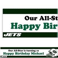Custom New York Jets Banner 6ft