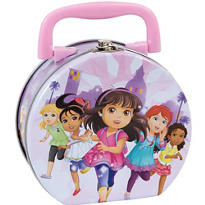 Mini Dora the Explorer Tin Box