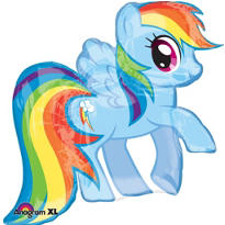 Foil My Little Pony Rainbow Dash Balloon 38in