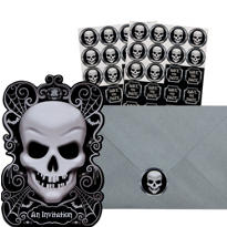 Fright Night Halloween Invitations 20ct