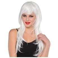 Glam White Wig