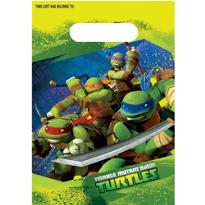 Teenage Mutant Ninja Turtles Favor Bags 8ct