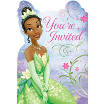 Princess and the Frog Invitations 8ct