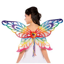Rainbow Glitter Wings