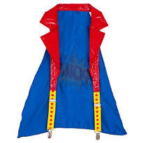 Superhero Halter Suspender Cape