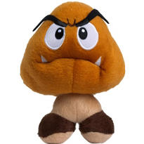 Clip-On Super Mario Goomba Plush