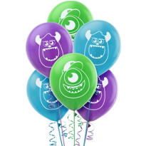 Monsters University Balloons 12in 6ct