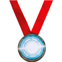 Iron Man Award Medal 24in