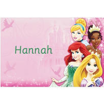 Disney Princess Sparkle Custom Thank You Note