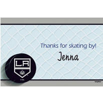 Los Angeles Kings Custom Thank You Note