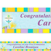 Custom Joyous Communion Banner 6ft
