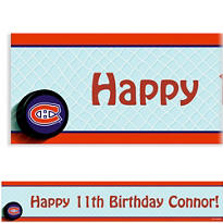 Montreal Canadiens Custom Banner