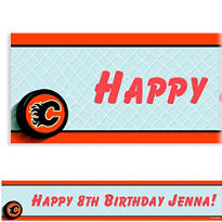 Calgary Flames Custom Banner