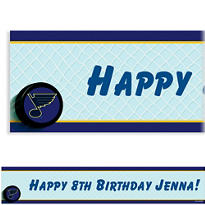St. Louis Blues Custom Banner