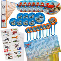 Colorful Planes Favor Pack 48pc