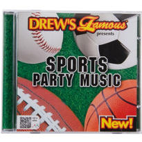 Sports Party Music CD
