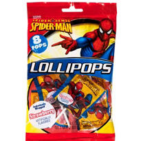 Spiderman Candy