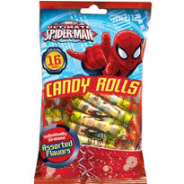 Spider-Man Candy Rolls 16ct