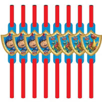 Mike the Knight Straws 8ct