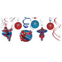Amazing Spider-Man Swirl Decorations 12ct