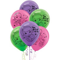 Doc McStuffins Balloons 12in 6ct
