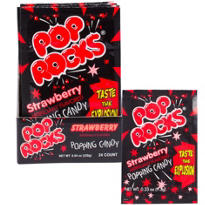 Strawberry Pop Rocks 24ct