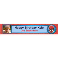 Ultimate Spider-Man Custom Photo Banner